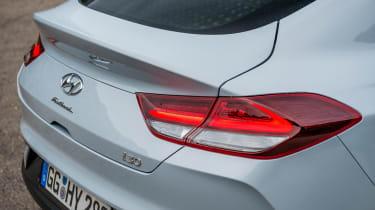 Hyundai i30 Fastback - rear profile