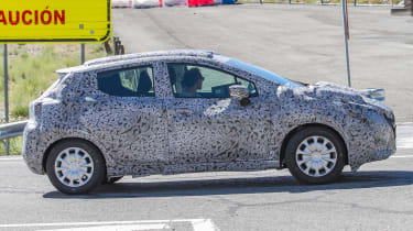 Nissan Micra 2017 spies side