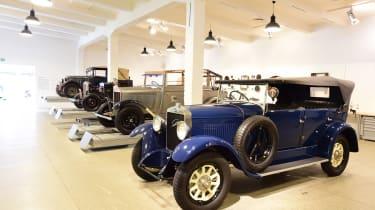 Skoda museum - cars