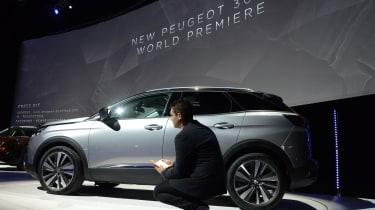 Peugeot 3008 big reveal - show car silver