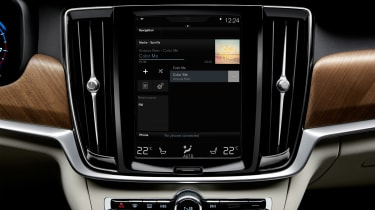 Volvo XC90 2017 screen