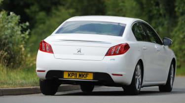 Peugeot 508 1.6 HDi Active rear cornering