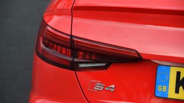 Audi S4 - rear light detail