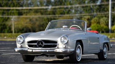 Lot 102 – 1955 Mercedes-Benz 190SL