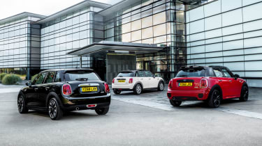 MINI Classic, Sport and Exclusive trims - rear