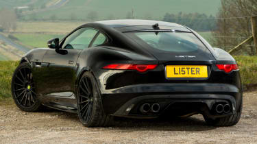 Lister Thunder rear end static
