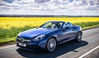 Mercedes SLC 180 front side