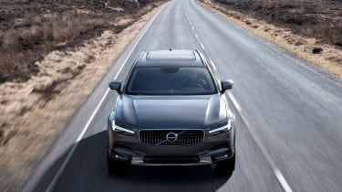 Volvo V90 Cross Country - official front