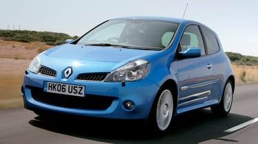 Clio III RS 197 - front