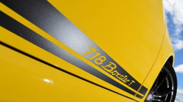 Porsche Boxster T - decals