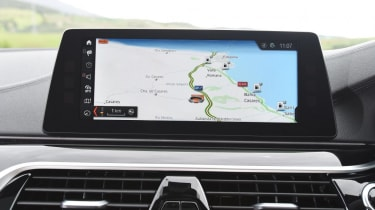 BMW 5 Series - sat-nav