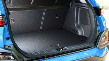 Hyundai Kona Hybrid - boot