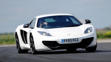 The MP4-12C is the first car designed by Mclaren upon it's return to building and designing road cars again.