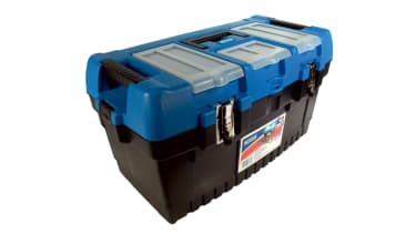 Draper Large Tool Box with Tote Tray 53887