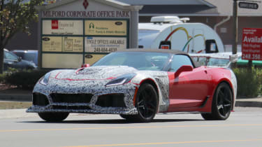 Corvette ZR1 front quarter