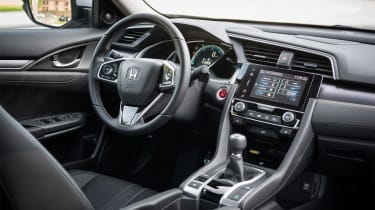 Honda Civic Saloon - cabin