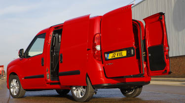 The Combo offers 4.2 cubic metres of load space.