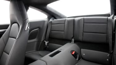 Porsche 911 Carrera rear seats