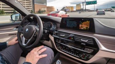 BMW 5 Series Personal CoPilot autonomous prototype
