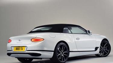 Bentley Continental GTC - studio rear roof up