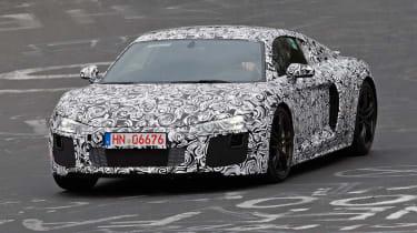 Audi R8 front
