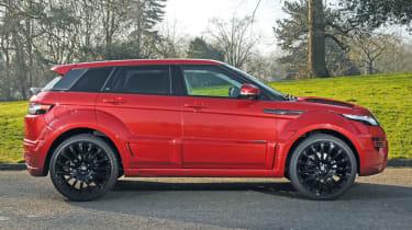 Prindiville Range Rover Evoque side profile
