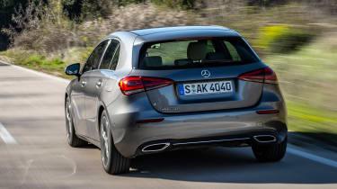 Mercedes A-Class - rear