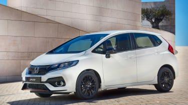 Honda Jazz facelift - front
