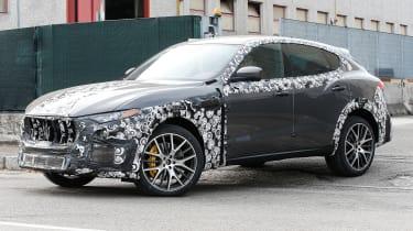 Maserati Levante GTS front side