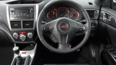 Subaru WRX STi saloon dash