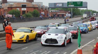 Coventry Motofest 2016 - start line
