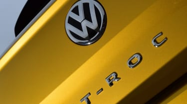 Volkswagen T-Roc - T-Roc badge