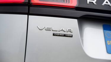 Range Rover Velar - diesel badge
