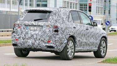 Mercedes GLE spied - rear