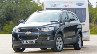 4x4 Weighing Over 1 800kg Chevrolet Captiva Auto Express