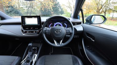 Toyota Corolla hybrid Long term - interior