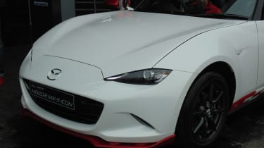 Mazda MX-5 Icon - front detail Goodwood