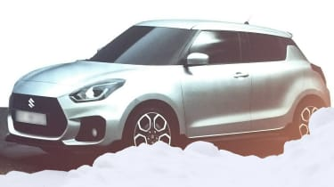 Suzuki Swift 2016 spied 1