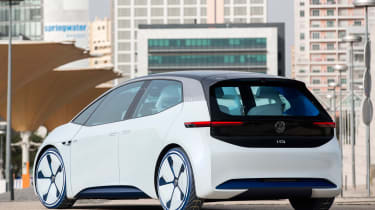 Volkswagen I.D. - rear static