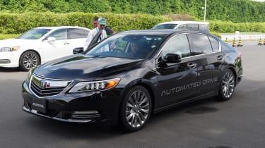 Honda autonomous car - front