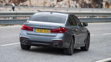 BMW 520d M Sport - rear action