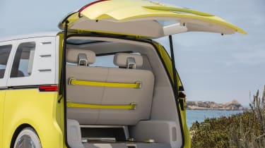 Volkswagen I.D. Buzz concept review - tailgate