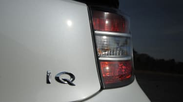 Toyota iQ badge