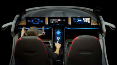 Bosch concept at CES 2017 - dashboard 4