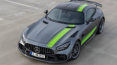 Mercedes-AMG GT R Pro - front above