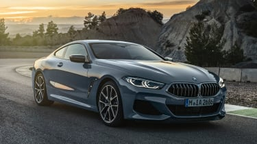BMW 8 Series - front twilight