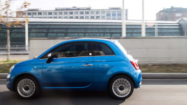 Fiat 500 Mirror special edition 2018 side