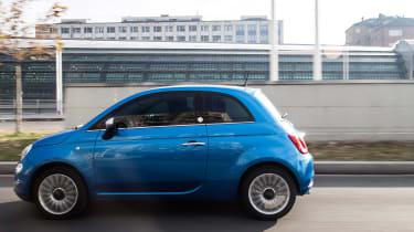 Fiat 500 Mirror special edition 2018 side
