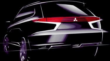 Mitsubishi Outlander Concept-S rear
