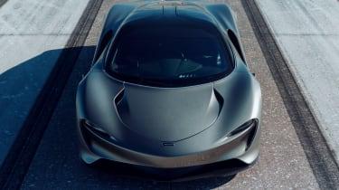 McLaren Speedtail - runway testing - front static